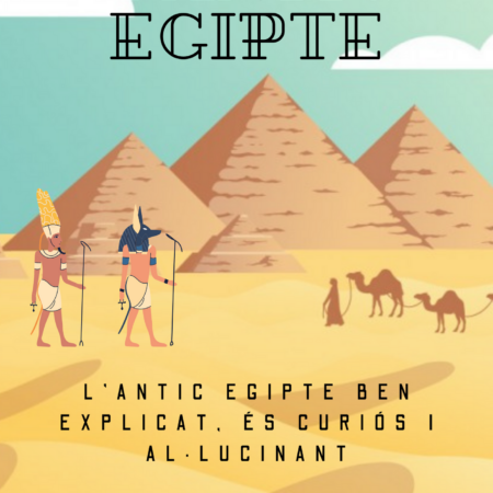 6è B presenta el seu llibre sobre l'antic Egipte